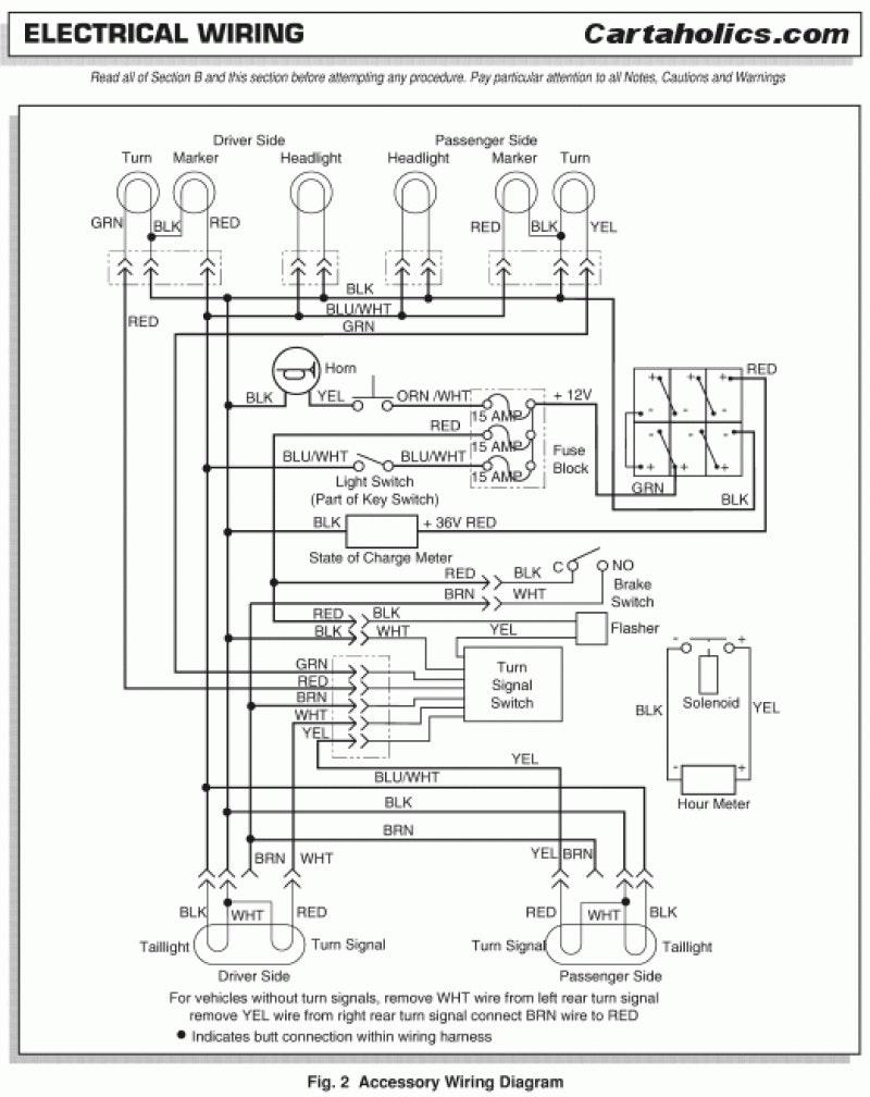 Ez Go Gasoline Golf Cart Wiring Diagram | Manual E-Books - Ezgo Wiring Diagram