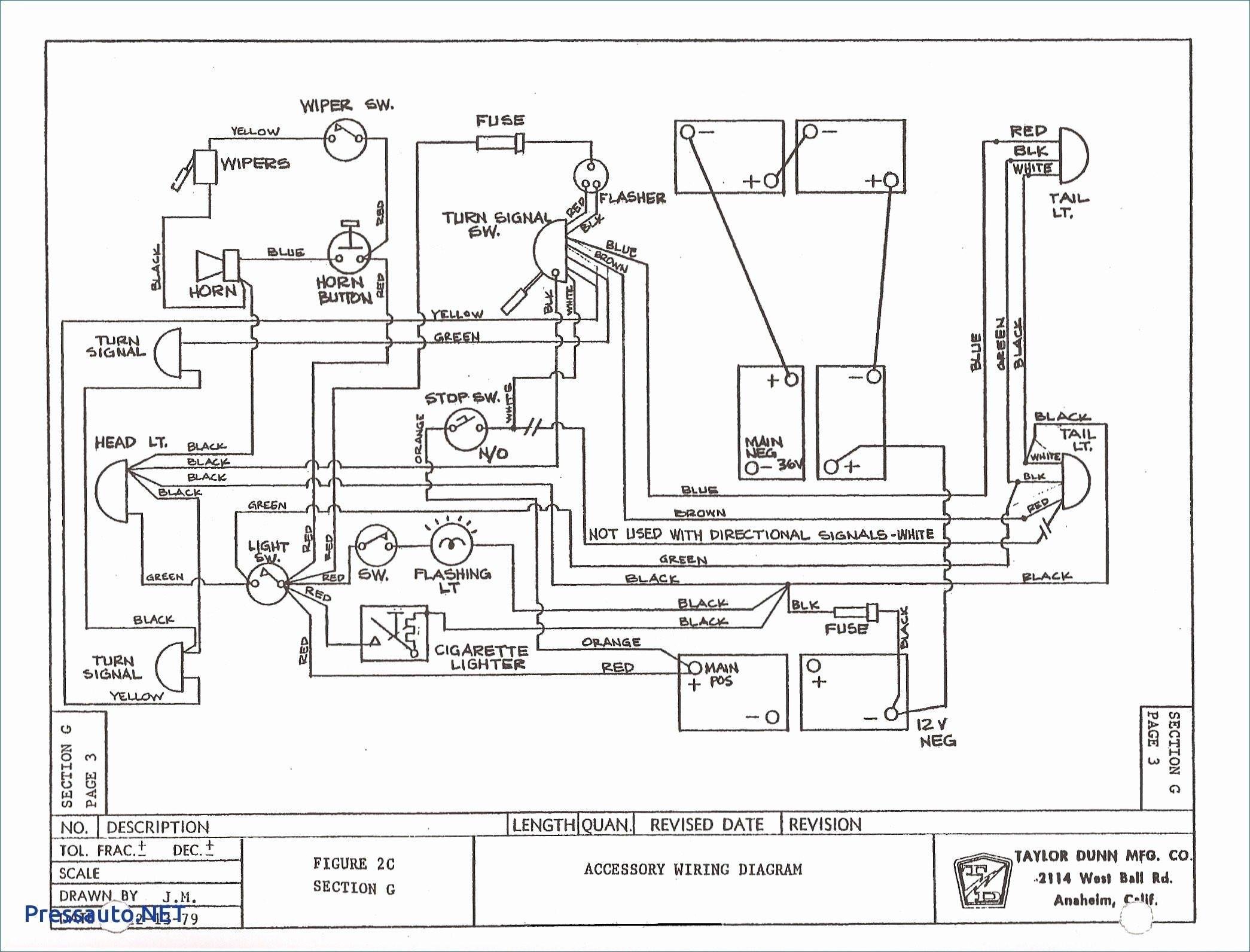 Ez Go Txt 36 Volt Wiring Diagram - Mikulskilawoffices - Ezgo Txt Wiring Diagram