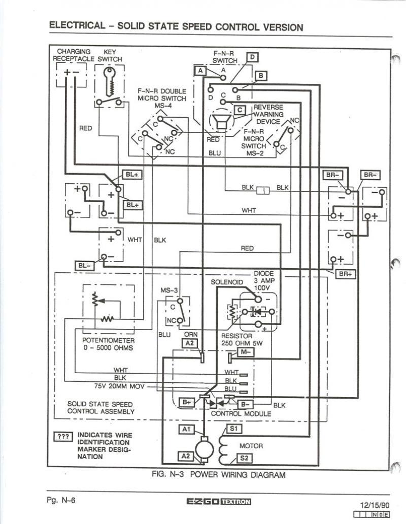 Ez Go Txt Golf Cart Wiring Diagram | Wiring Diagram - Ez Go Golf Cart Wiring Diagram Gas Engine