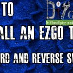 Ezgo Forward And Reverse Switch | How To Install Golf Cart F And R   Ez Go Electric Golf Cart Wiring Diagram