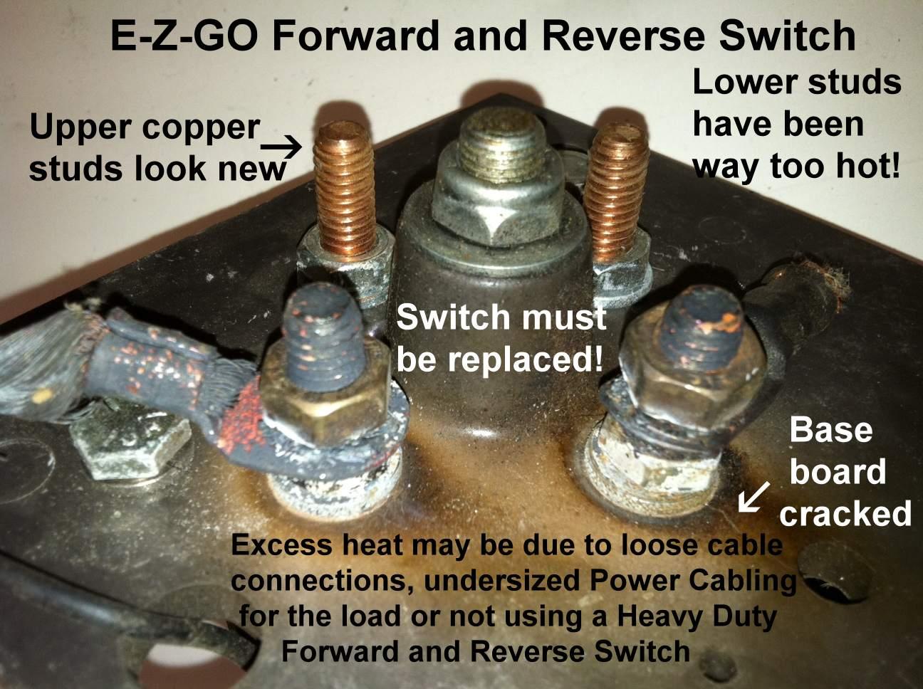 Ezgo Forward Reverse Switch Wiring Diagram | Manual E-Books - Ezgo Forward Reverse Switch Wiring Diagram