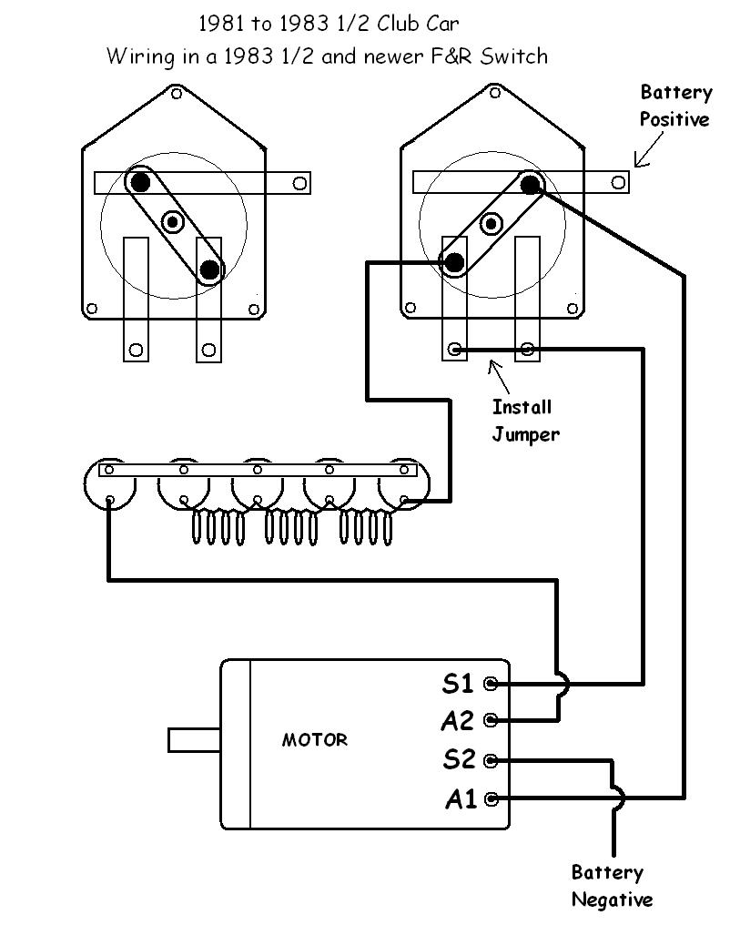 Ezgo Golf Cart Forward Reverse Switch Wiring Diagram | Manual E-Books - Ezgo Forward Reverse Switch Wiring Diagram