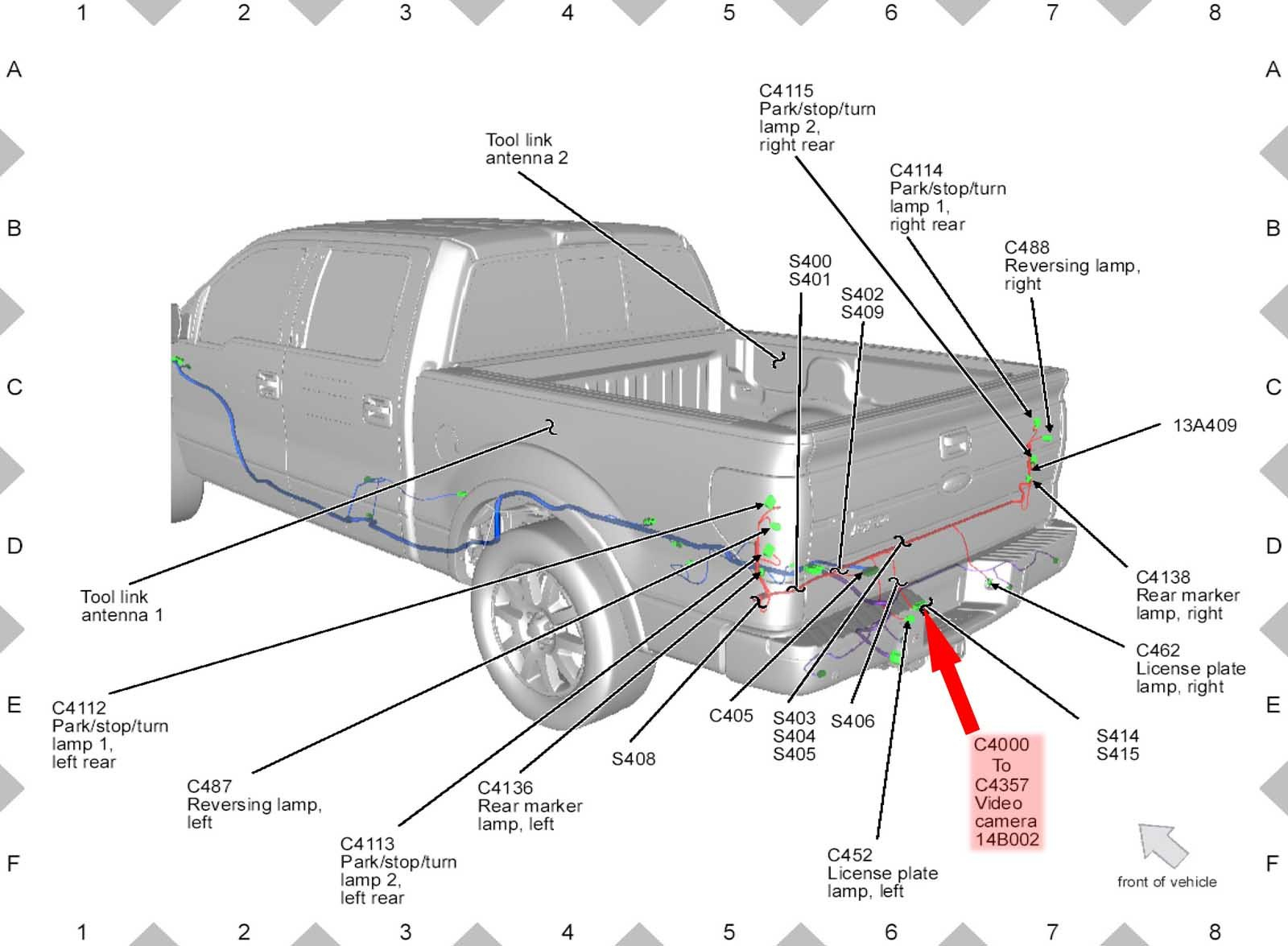 ford f trailer lights wiring diagram on 7-way wiring harness diagram,