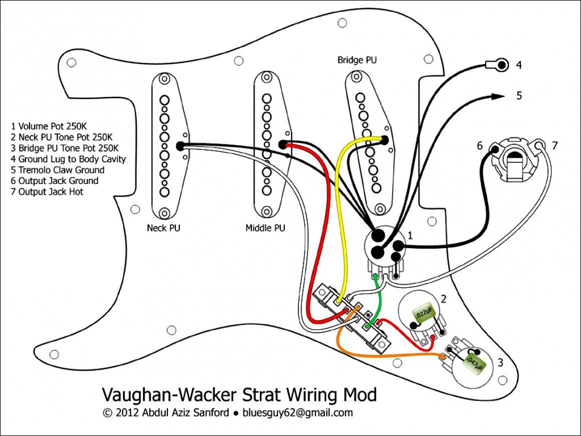 Fender American Deluxe Stratocaster Hss Wiring Diagram | Manual E-Books - Fender Strat Wiring Diagram