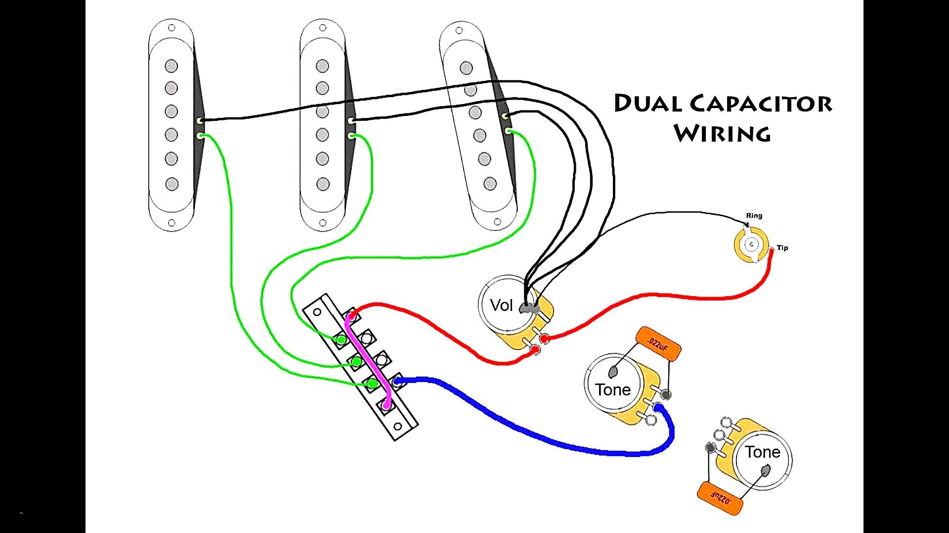 Fender American Deluxe Stratocaster Hss Wiring Diagram Rate Guitar - Fender Hss Wiring Diagram