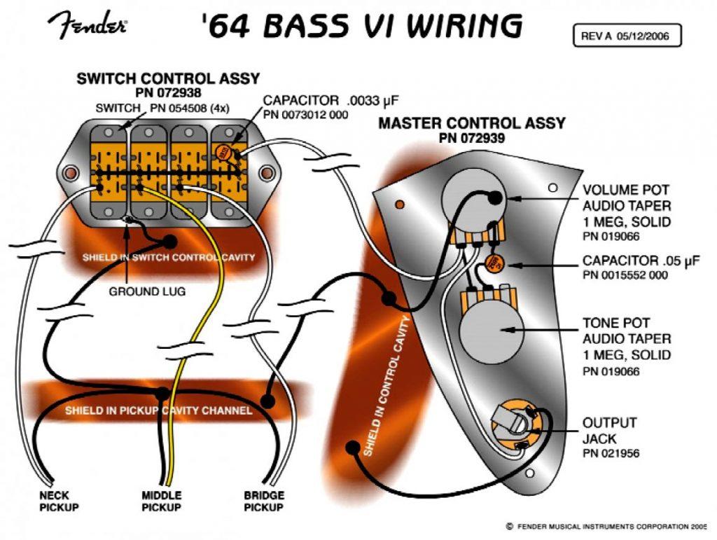 Fender Mustang Wiring Diagram Wirings Diagram