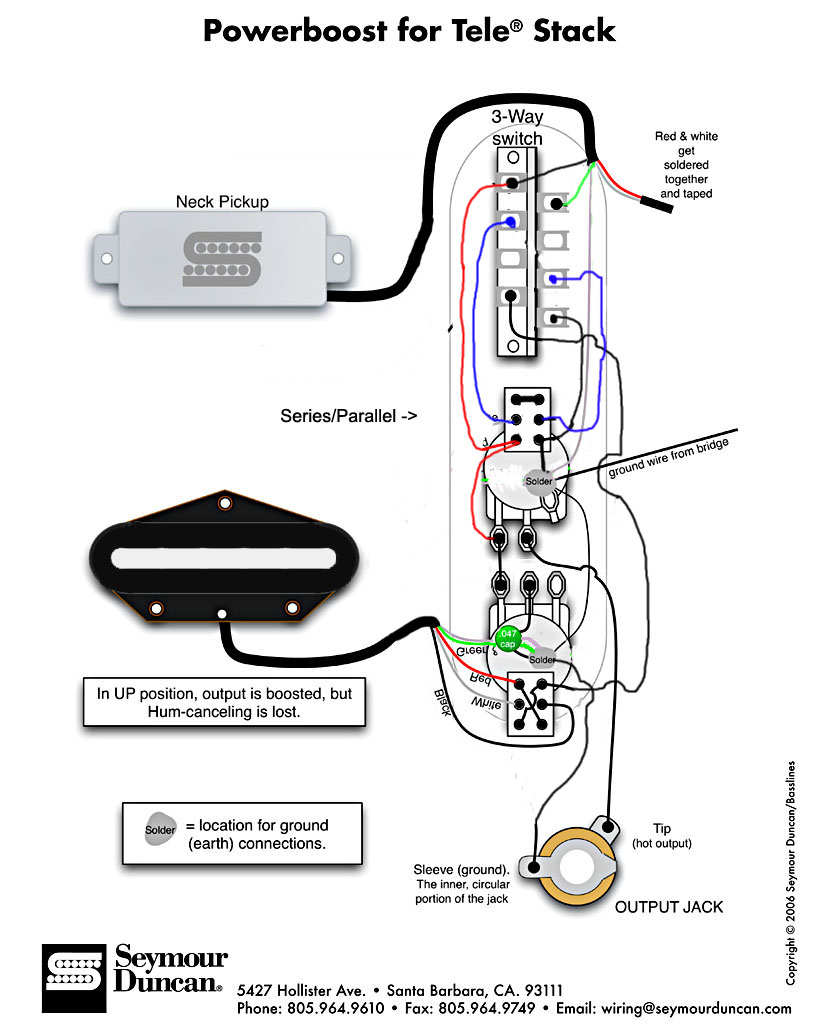 Fender Special Tele Pickup Wiring Diagram | Wiring Library - Telecaster Wiring Diagram 3 Way