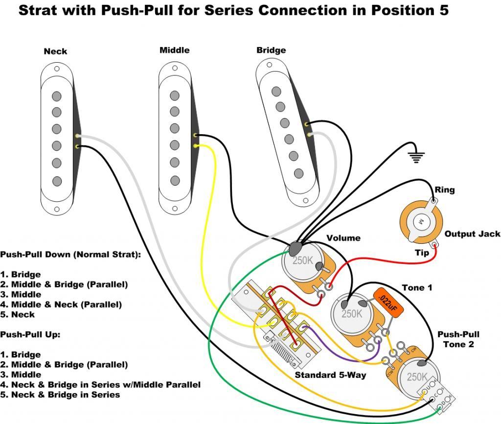 Fender Wiring Diagram - Wiring Diagrams - Strat Wiring Diagram