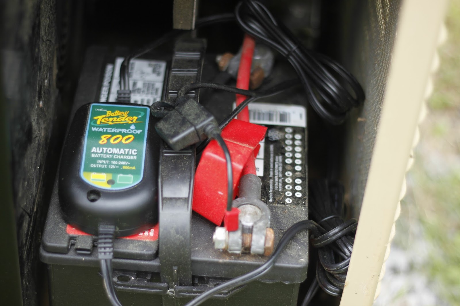 Fet Tricks: Substitue Battery Charger For Generac Generator - Generac Battery Charger Wiring Diagram