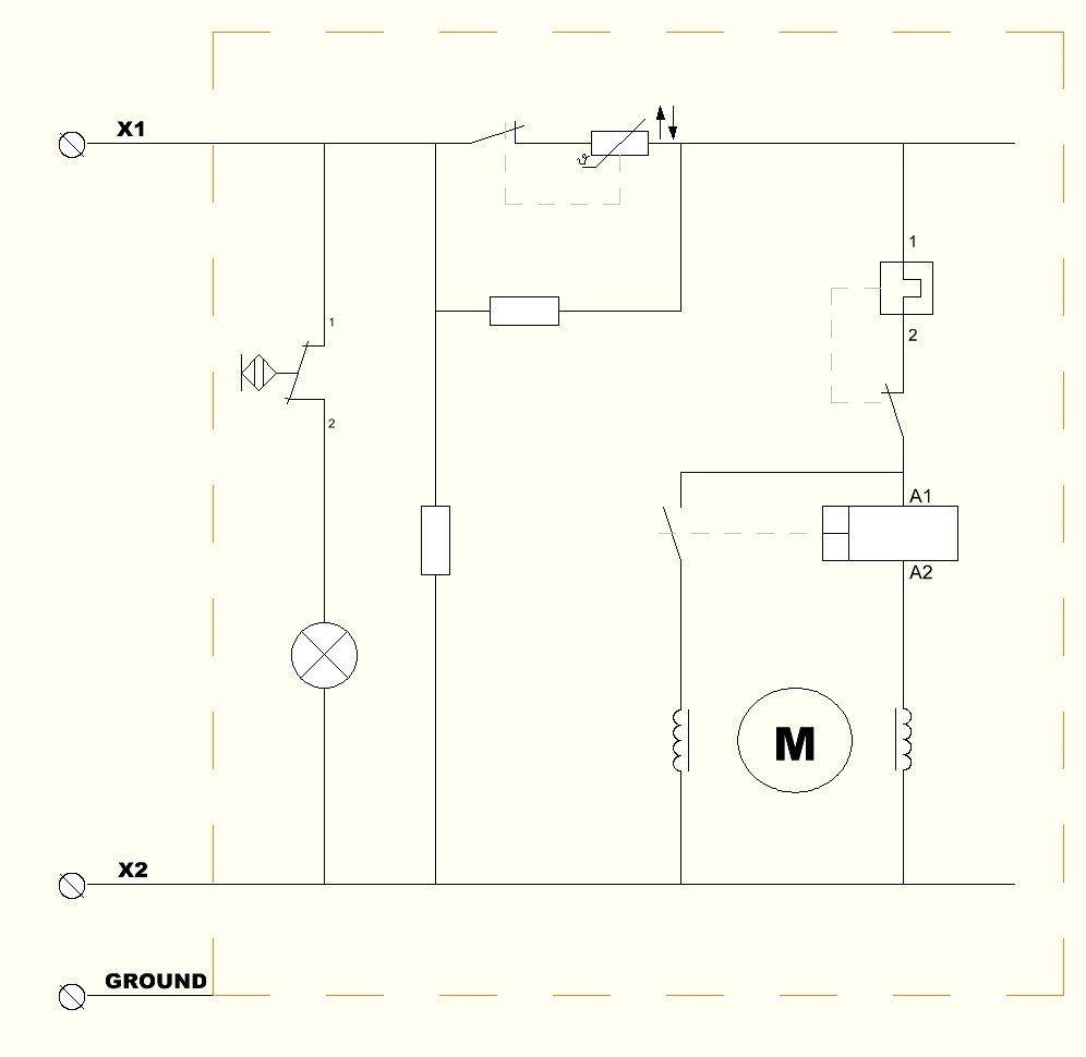 File:schematic Wiring Diagram Of Domestic Refrigerator - Schematic Wiring Diagram
