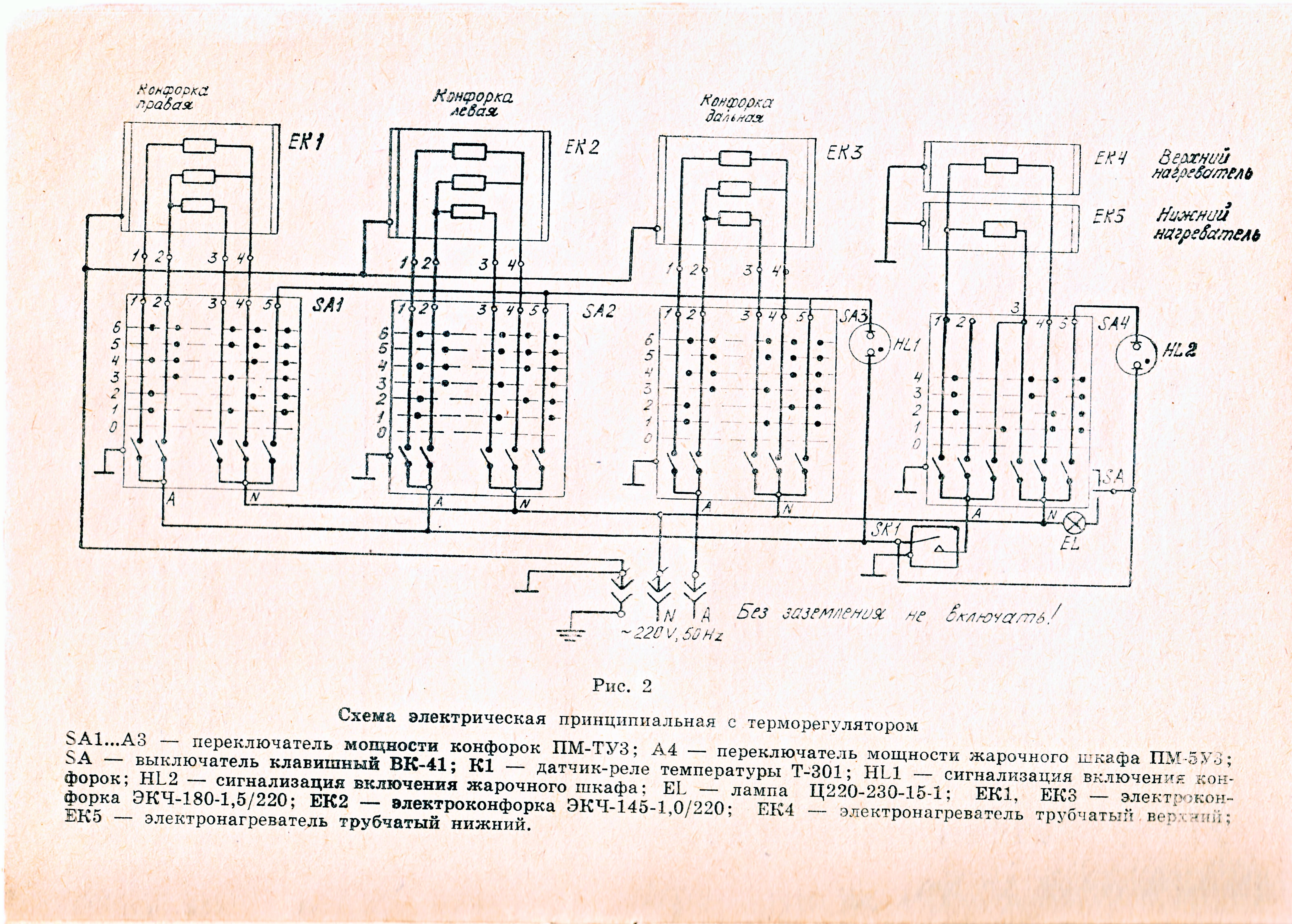 File:wiring Diagram Of Ussr Electric Stove - Wikimedia Commons - Electric Stove Wiring Diagram