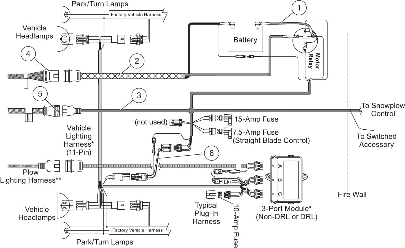 Full Size Of Hiniker Plow Wiring Diagram Meyer Snow For Headlights Fisher Minute Mount 2