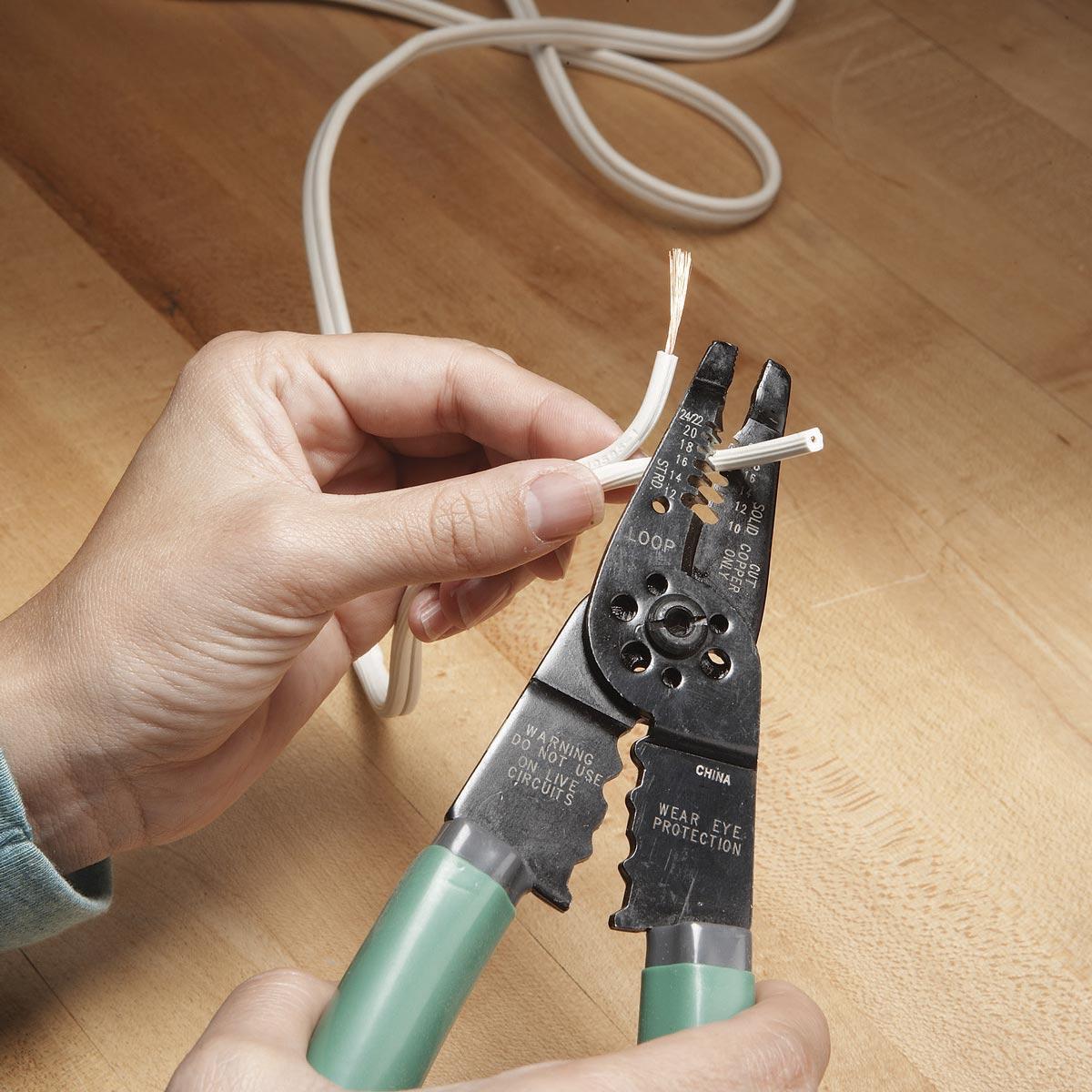 Fix A Lamp Cord   Family Handyman   The Family Handyman - Extension Cord Wiring Diagram