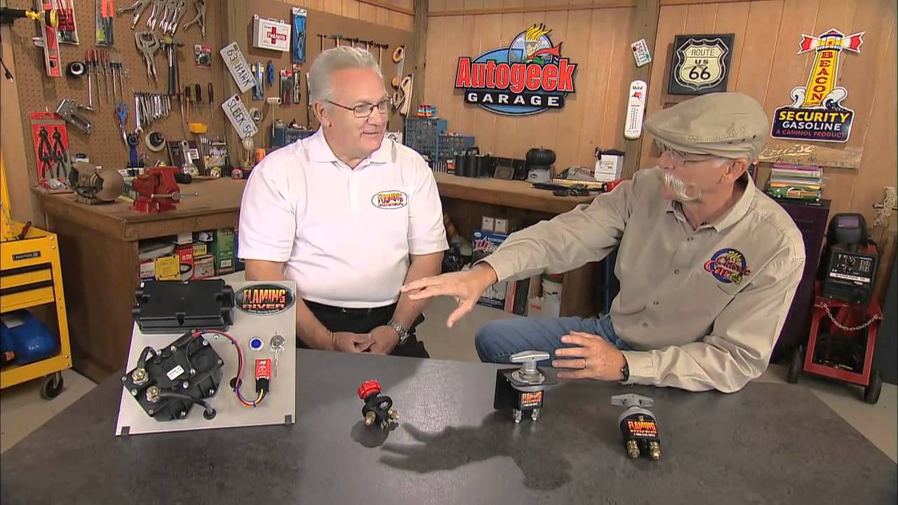 Flaming River Battery Disconnect Switches - Youtube - Battery Disconnect Switch Wiring Diagram