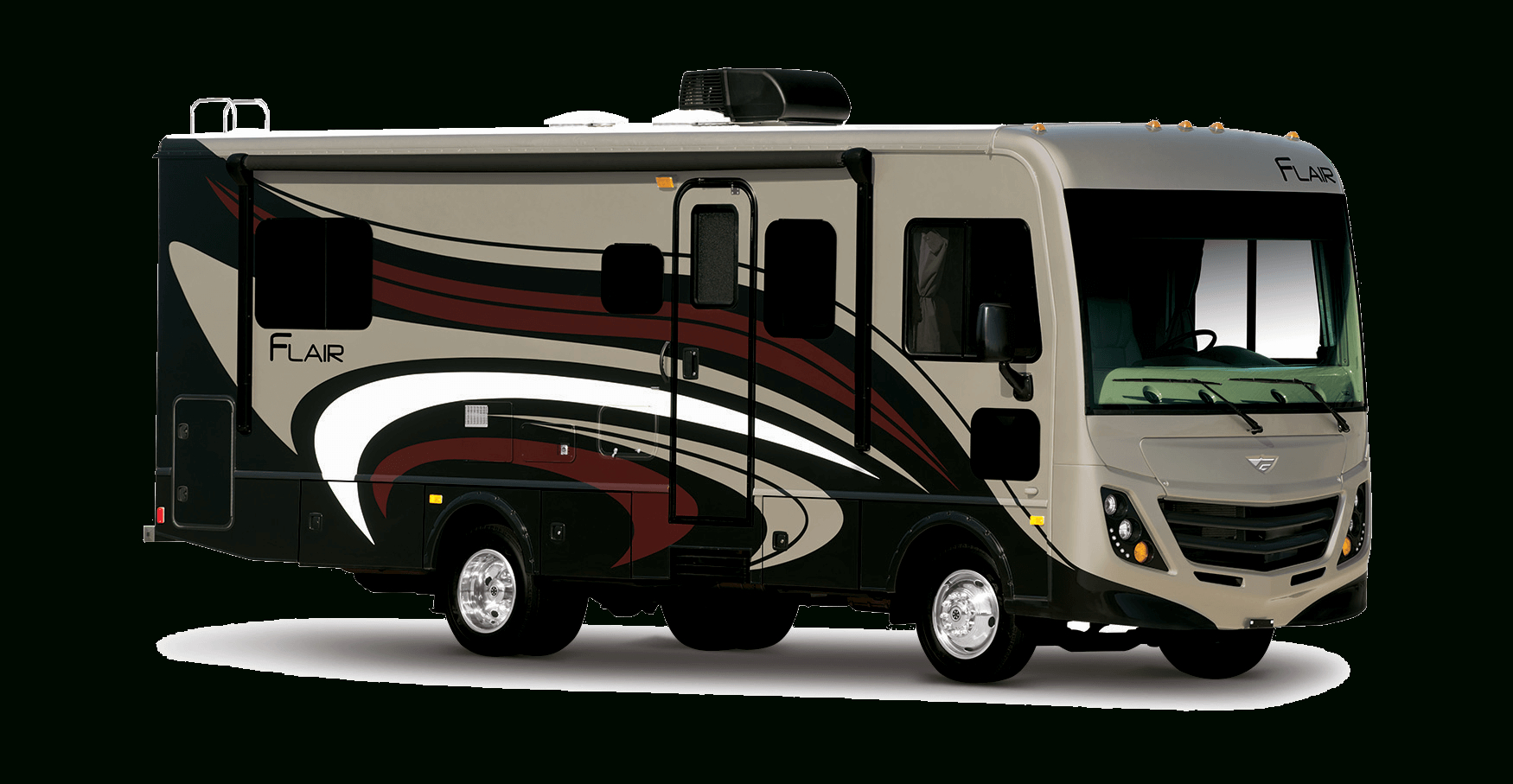 Fleetwood Flair Class A Motorhome - Rv Slide Out Switch Wiring Diagram