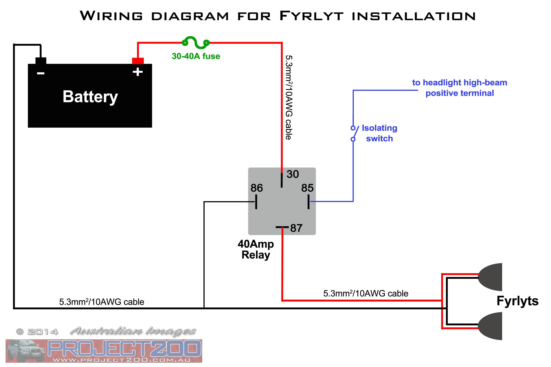 Fog Light Relay Wiring Diagram | Wiring Diagram - Fog Light Wiring Diagram With Relay