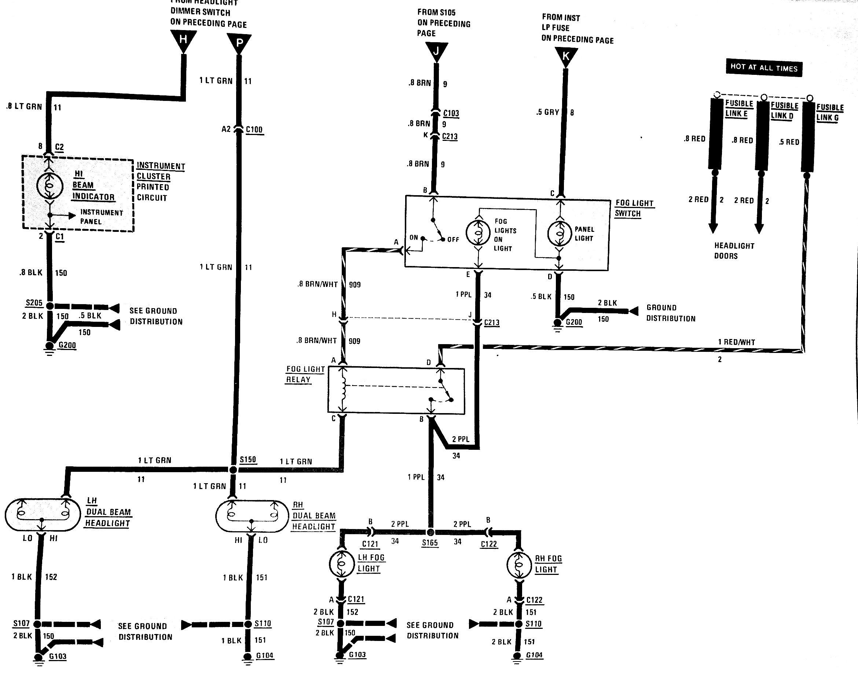 Fog Light Switch Wiring Diagram - Third Generation F-Body Message Boards - Foglight Wiring Diagram