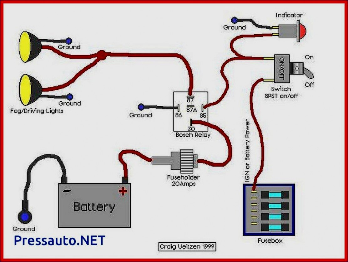 Fog Lights Wiring With Relay - All Wiring Diagram Data - Fog Light Wiring Diagram