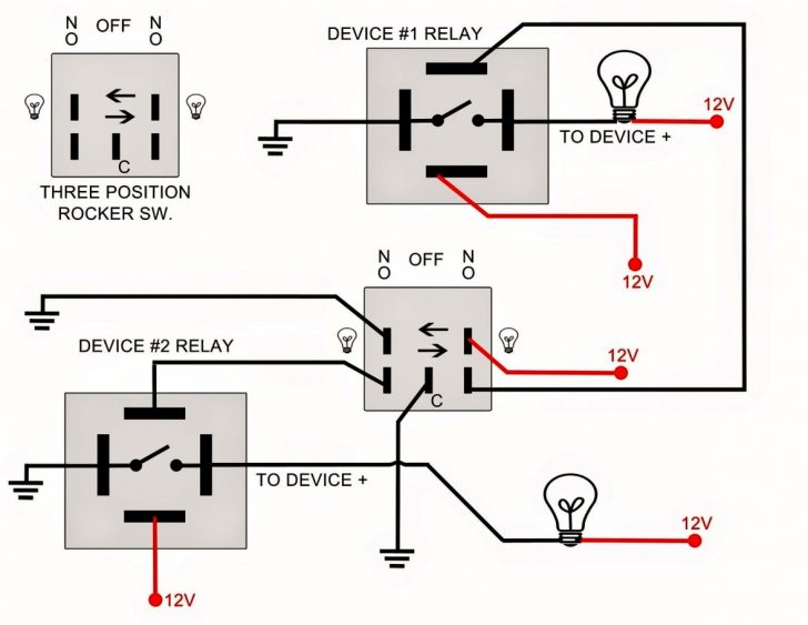Rocker Switch Wiring Diagram