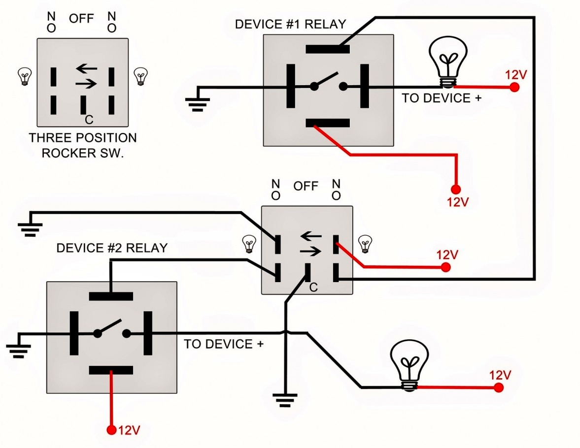 For A Triple Rocker Switch Wiring Diagrams | Wiring Diagram - Rocker Switch Wiring Diagram