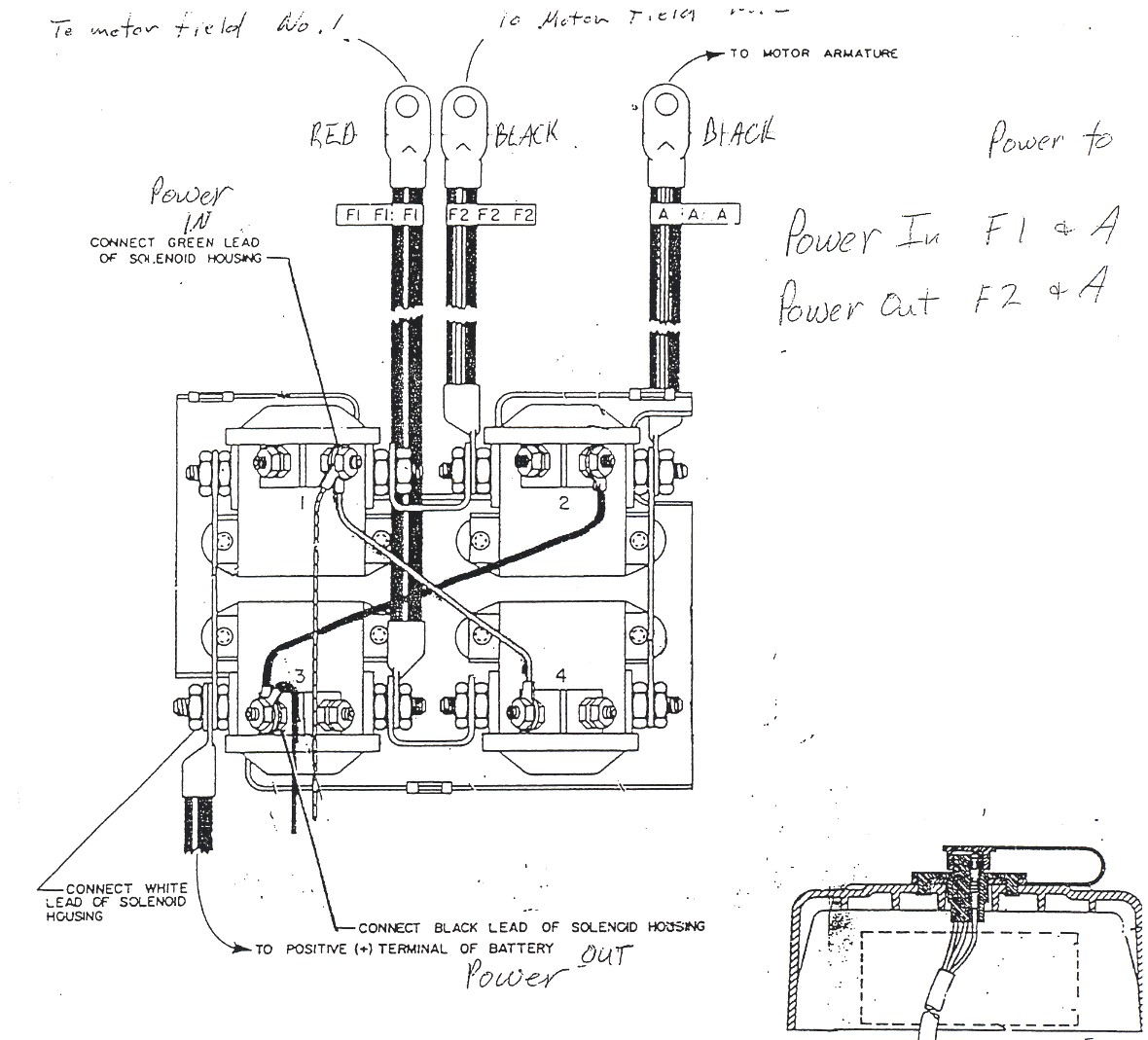 warn winch solenoid wiring diagram atv