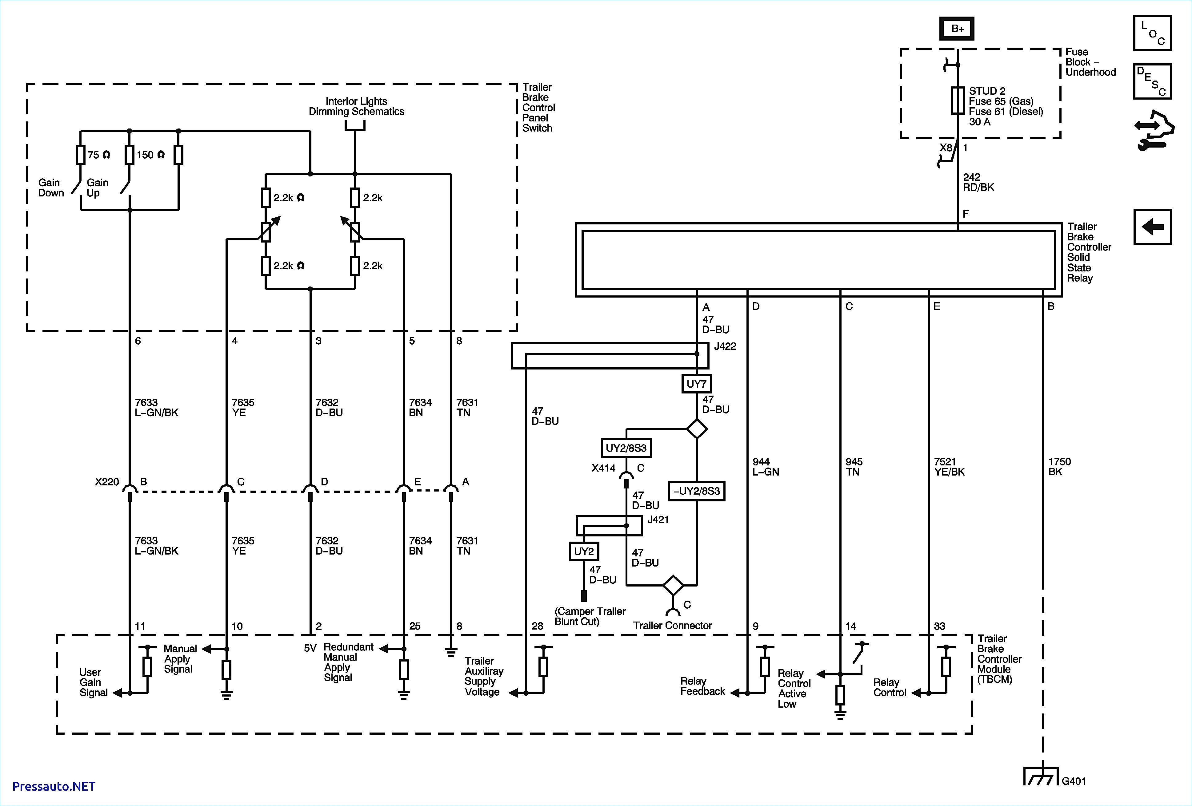 Force Controller Wiring Diagram | Wiring Library - Chevy Brake Controller Wiring Diagram