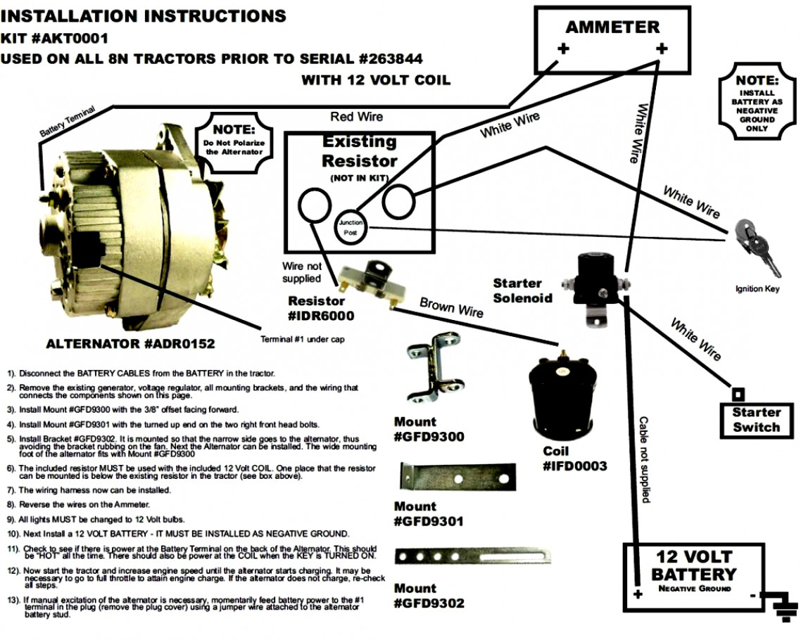 Ford 12 Volt Solenoid Wiring Diagram | Wiring Diagram - 8N Ford Tractor Wiring Diagram