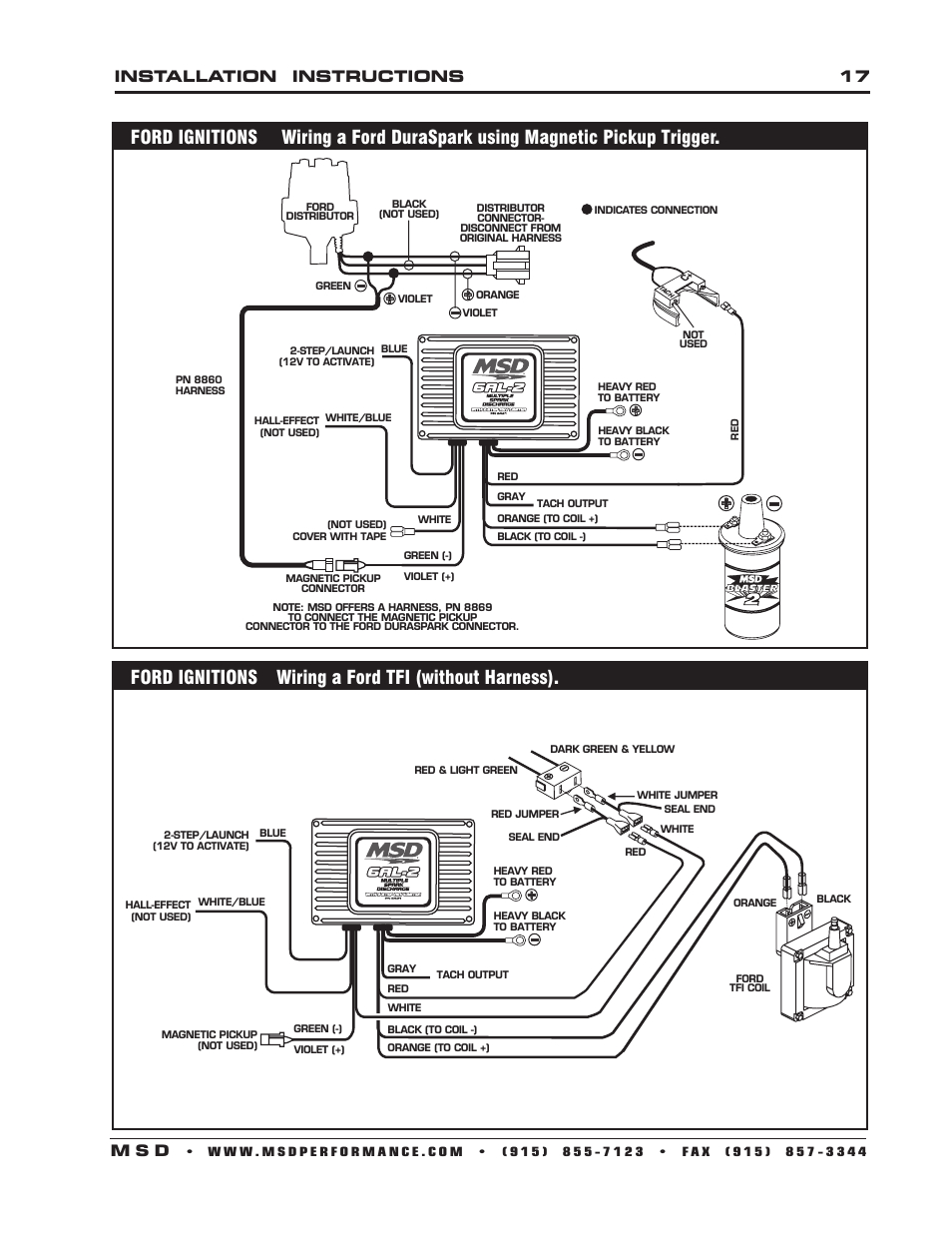 Ford Duraspark To Msd Ignition Wiring Diagram | Wiring Library - Duraspark 2 Wiring Diagram