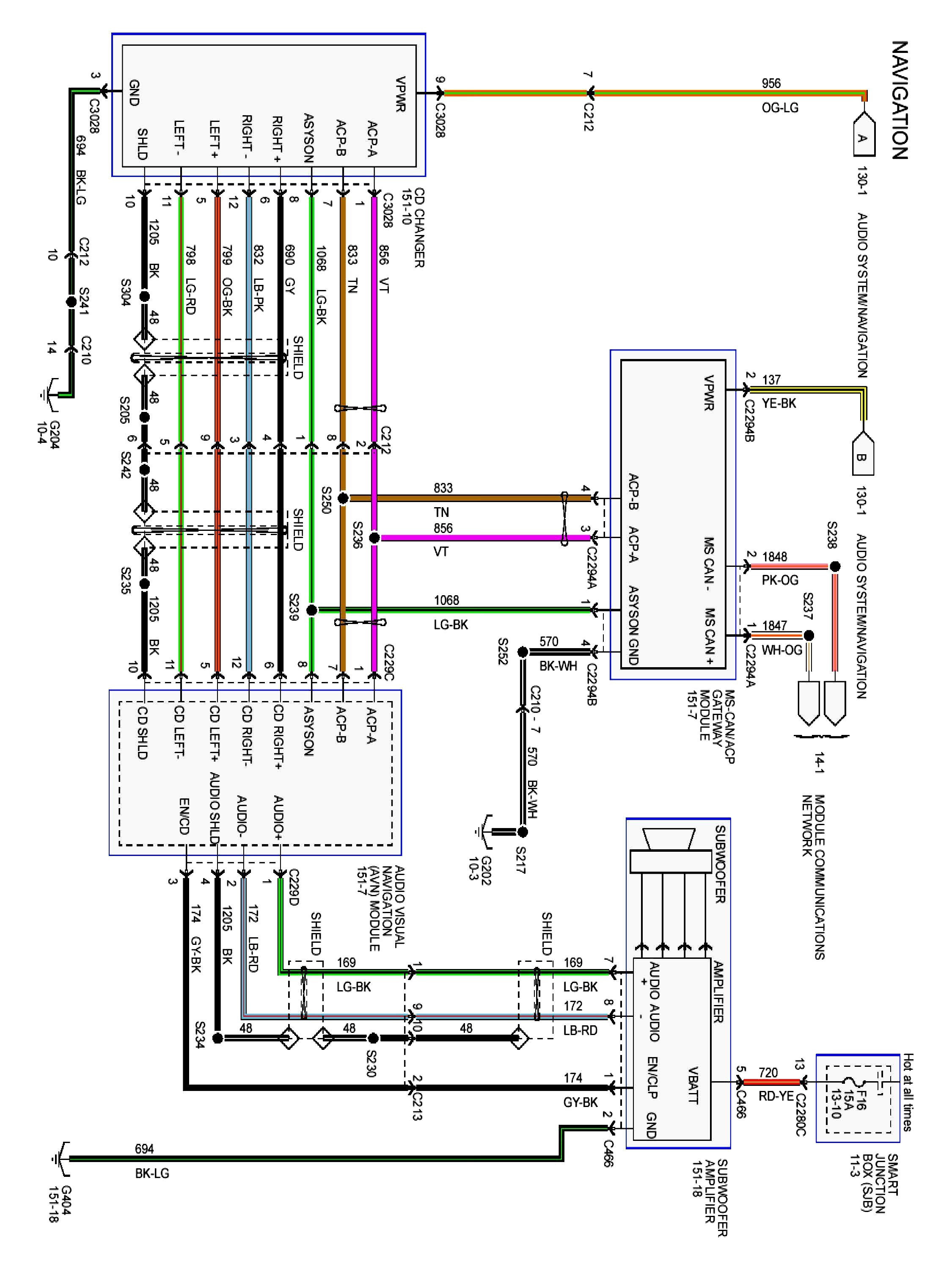 Ford Escape Wiring Harness Diagram - Wiring Diagrams Hubs - Jvc Wiring Diagram