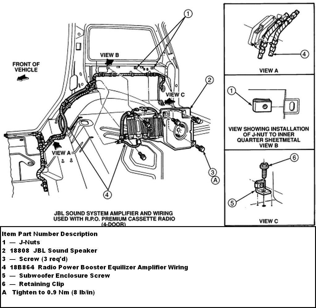 Ford F 150 Factory Subwoofer Wiring Diagram | Wiring Diagram - Trailer Wiring Harness Diagram