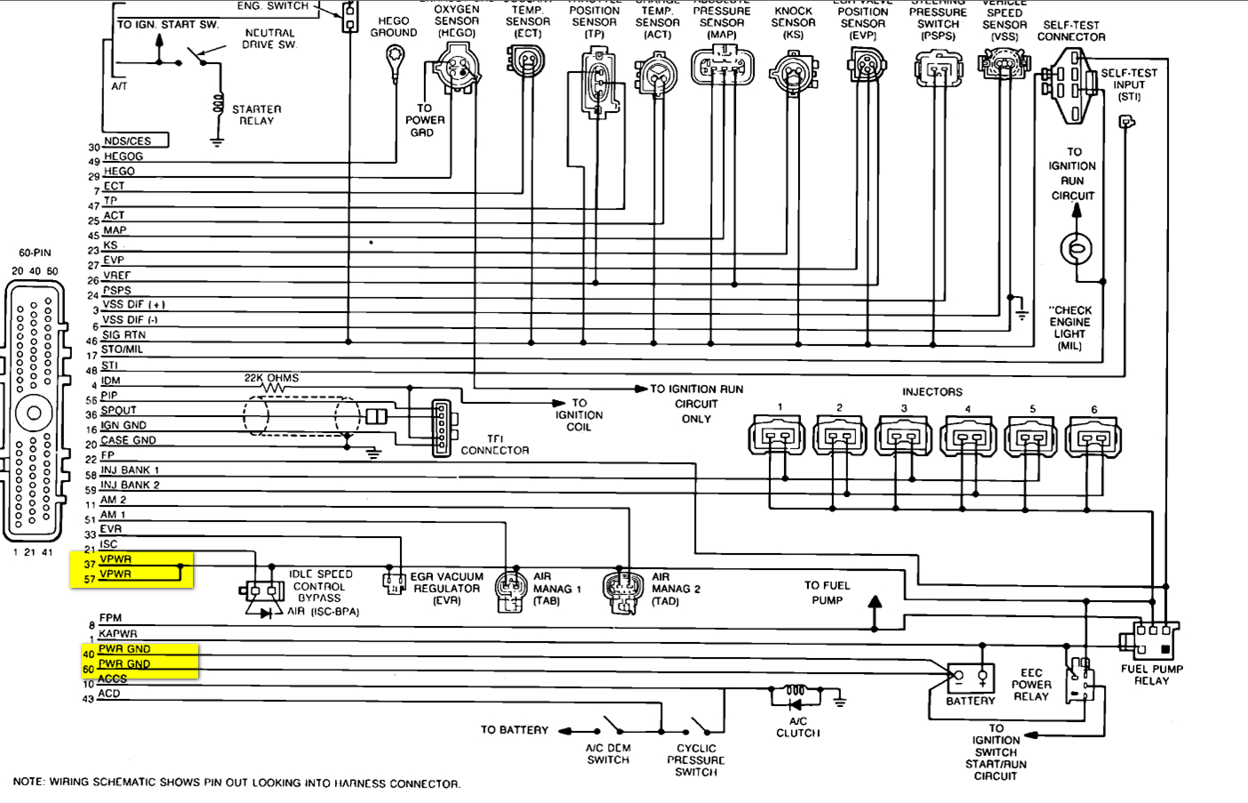 Ford F 150 Injector Wiring Diagram | Manual E-Books - Fuel Injector Wiring Diagram