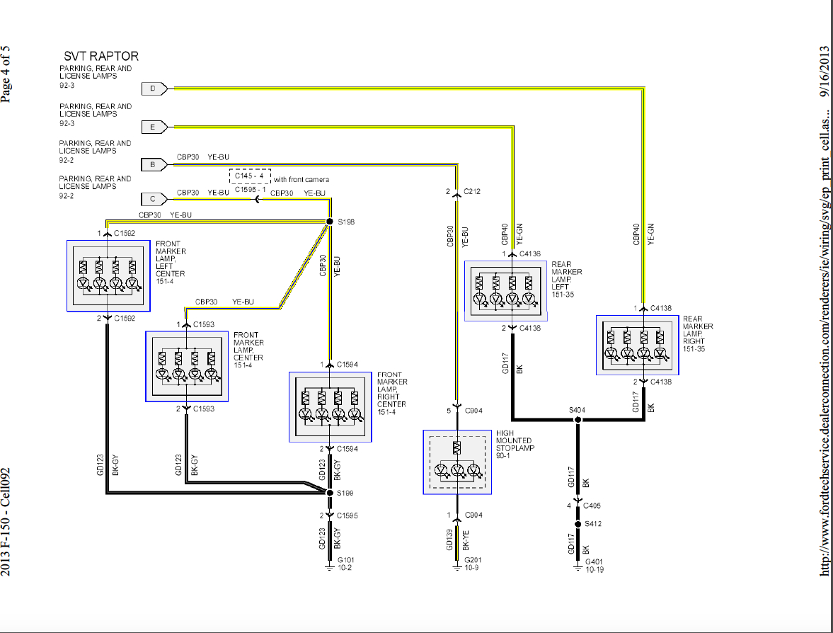 F150 Reverse Light Wiring - Wiring Diagram NL