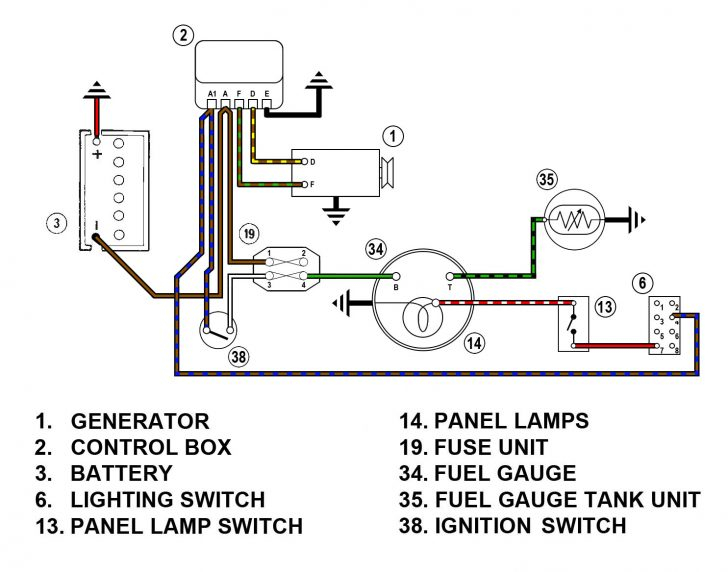 Fuel Gauge Sending Unit Wiring Diagram