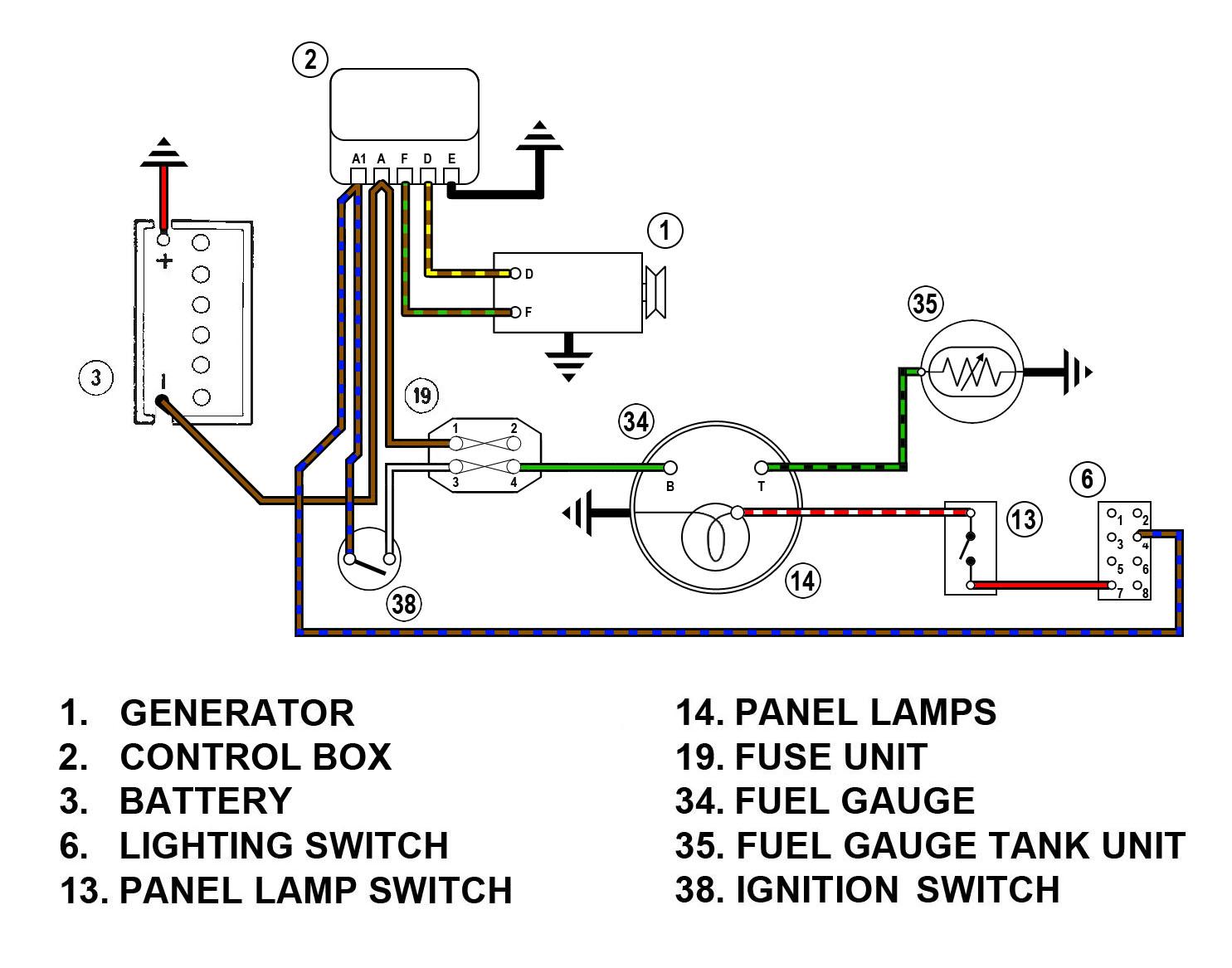 Ford Fuel Gauge Wiring Wiring Diagram Schematic - Fuel Gauge Sending Unit Wiring Diagram