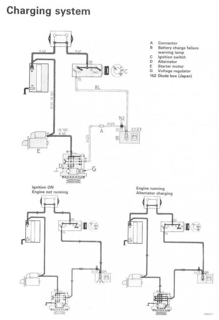 One Wire Alternator Wiring Diagram Chevy Wirings Diagram