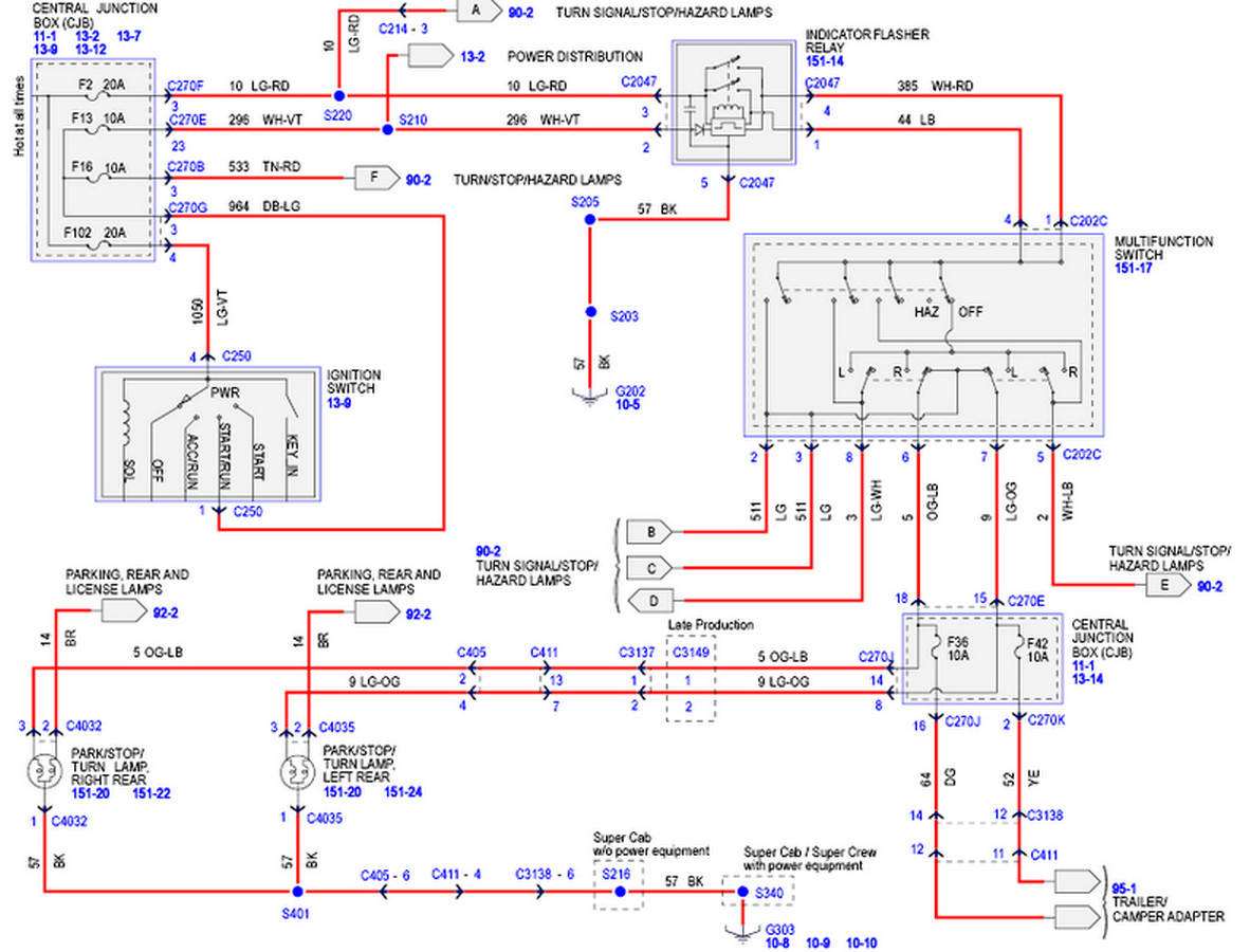 Ford Ranger Tail Light Wiring Diagram - Image Details - Tail Light Wiring Diagram