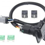Ford Replacement Oem Tow Package Wiring Harness, 7 Way (Super Duty   Ford F350 Wiring Diagram For Trailer Plug