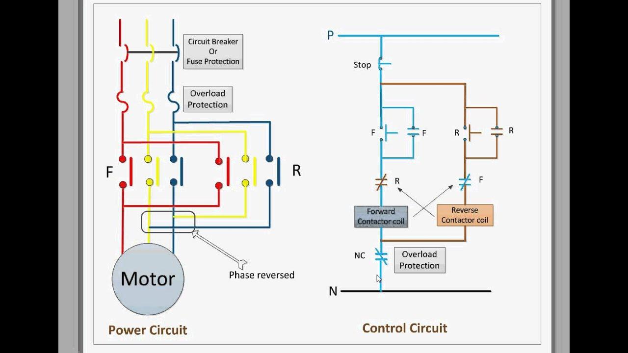 Forward Reverse Motor Wiring - Wiring Diagrams Hubs - Single Phase Motor Wiring Diagram Forward Reverse