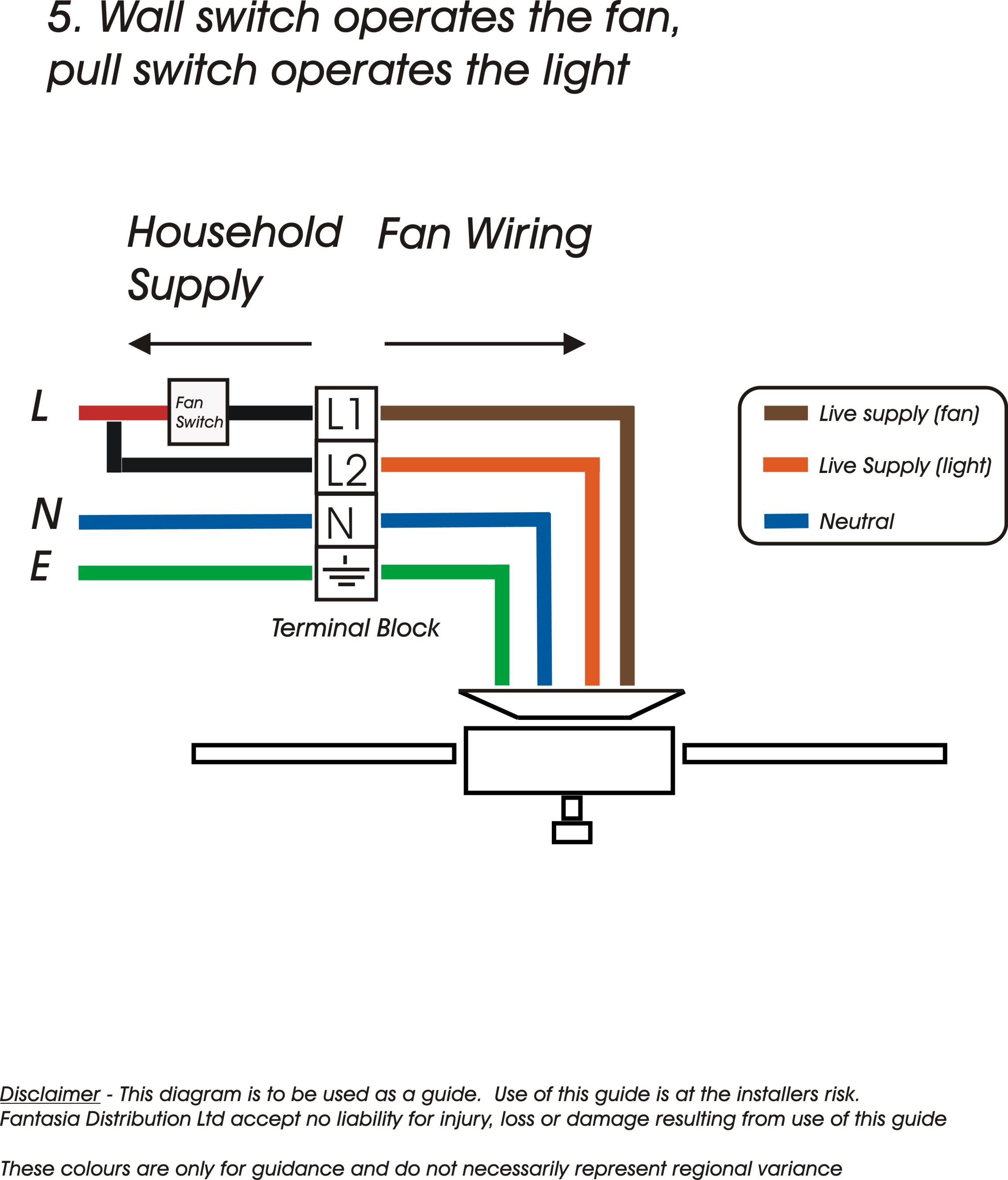 Four Wire Fan Diagram - Wiring Diagram Data - Hunter 3 Speed Fan Switch Wiring Diagram