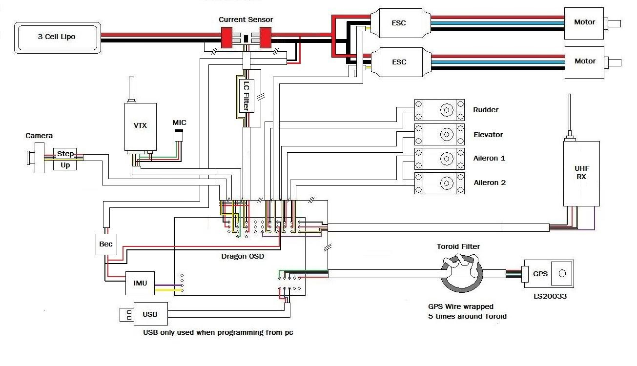 Fpv Wiring Diagrams - Fpv Camera Wiring Diagram