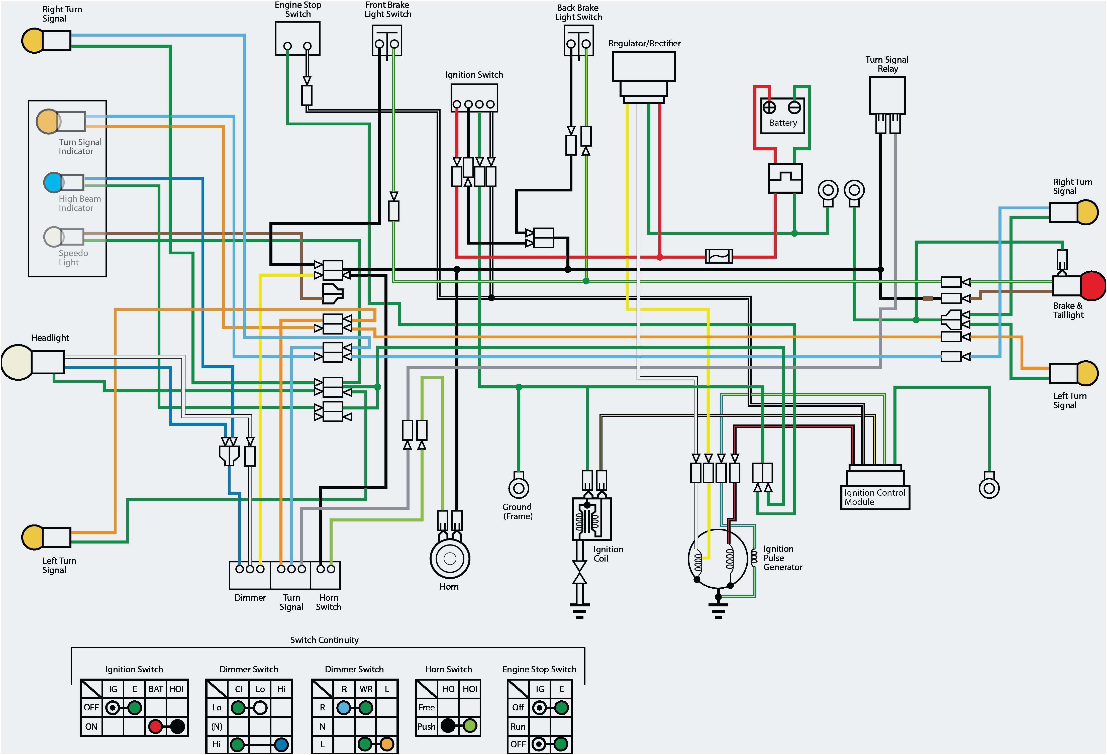 Frais Wiring Diagram Brake Light Switch Refrence Universal - Brake Light Switch Wiring Diagram