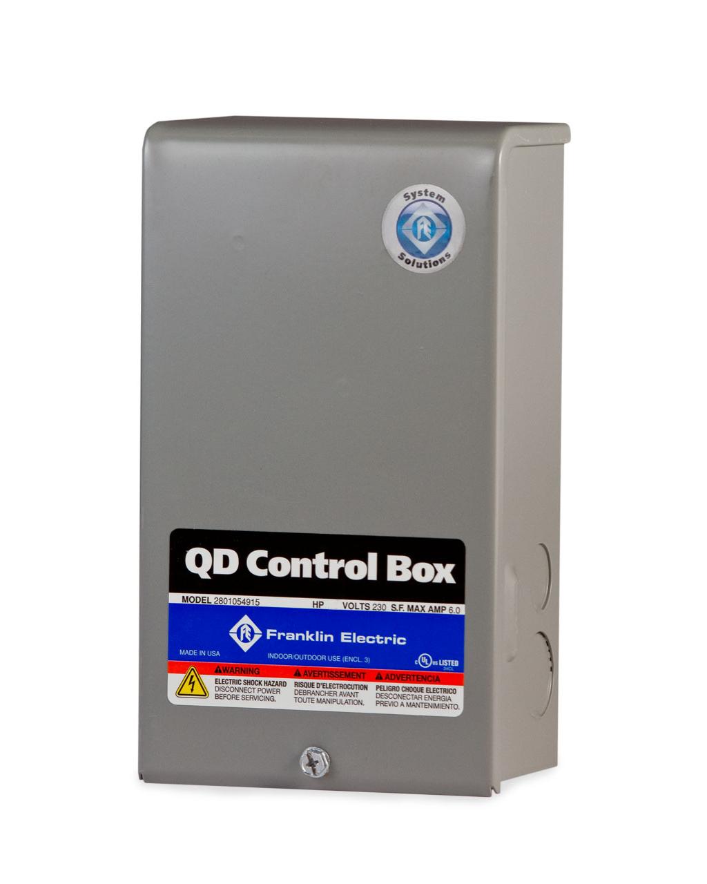 Franklin Electric Qd Control Box | Solar Power & Pump Company - 3 Wire Well Pump Wiring Diagram