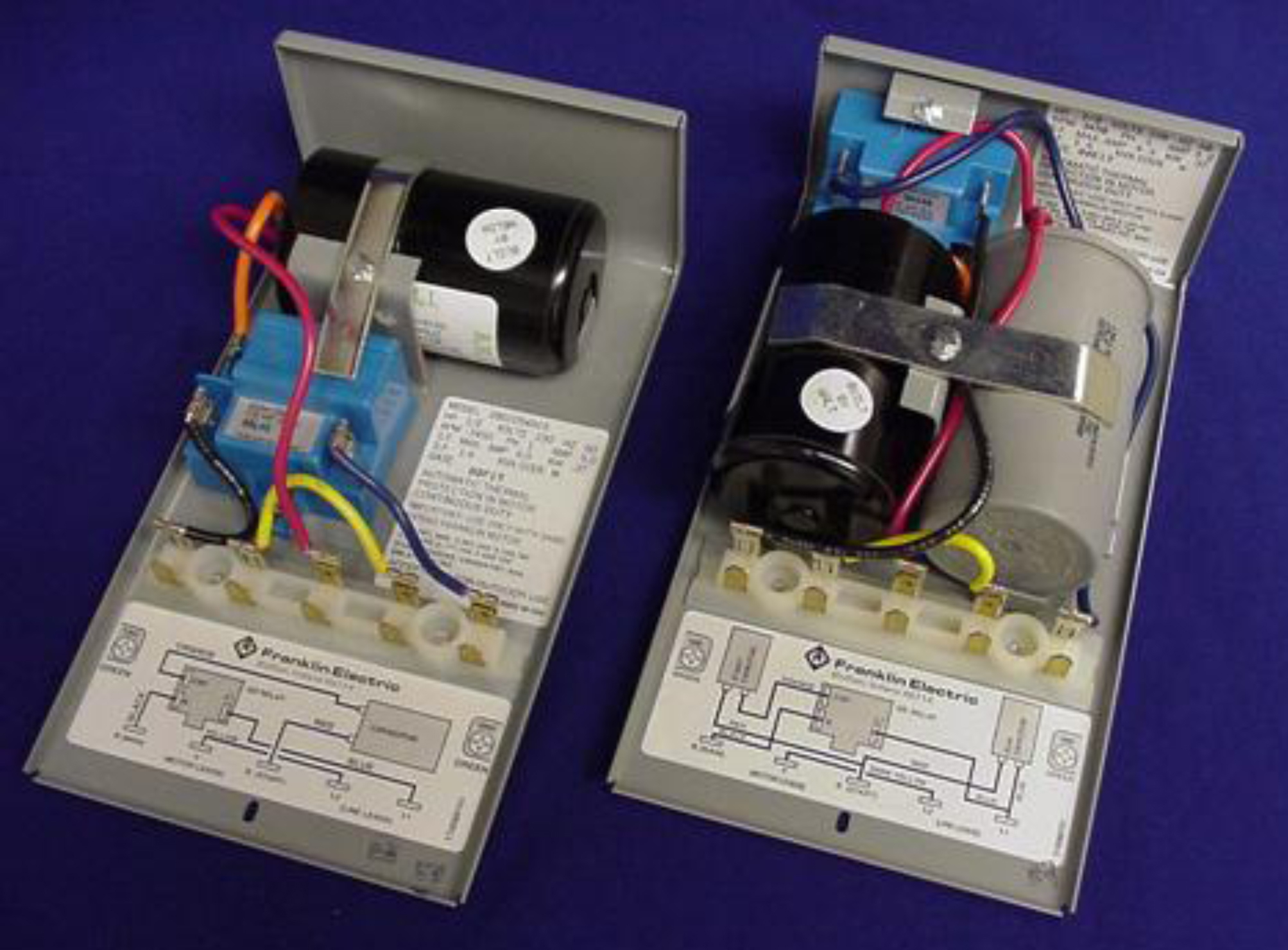 Franklin Motor Wiring Diagram | Manual E-Books - Franklin Electric Control Box Wiring Diagram