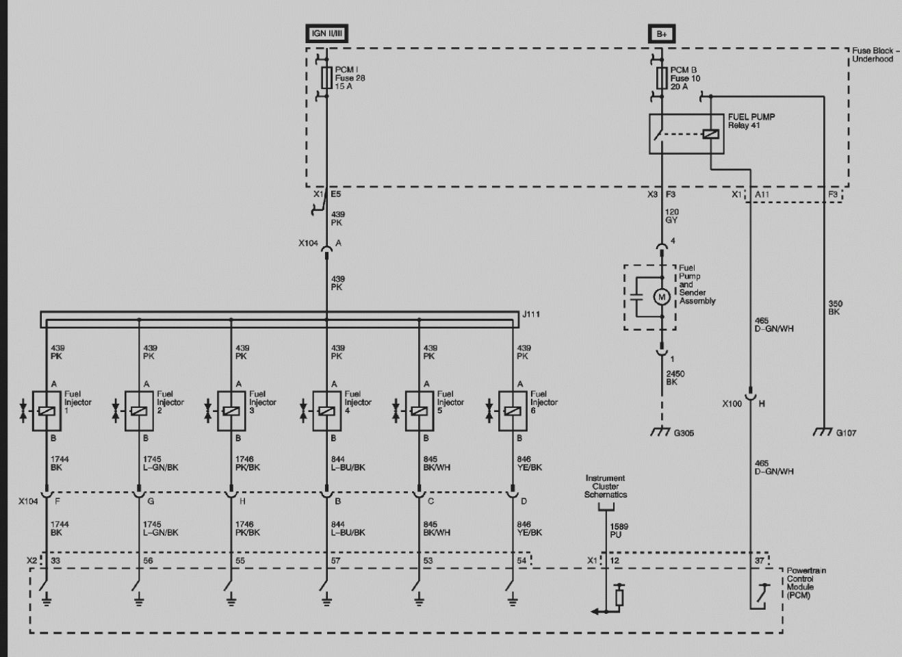 Fuel Injector Wiring Diagram - All Wiring Diagram Data - Fuel Injector Wiring Diagram