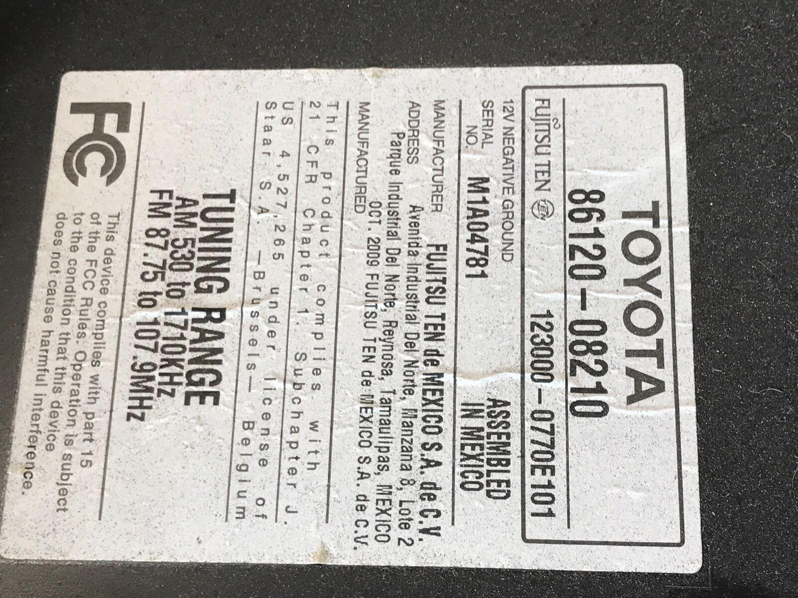 Fujitsu Ten Toyota Wiring Diagram | Manual E-Books - Toyota 86120 Wiring Diagram