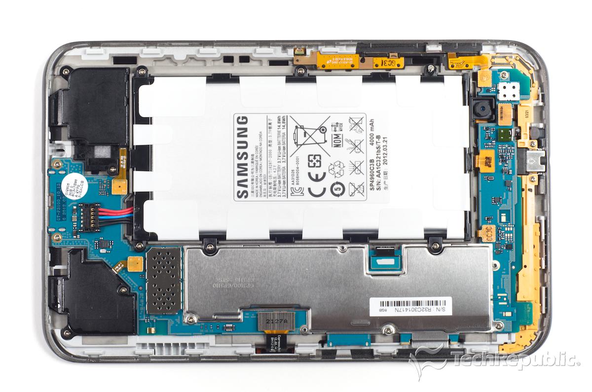 Galaxy Tab 2 7.0 Teardown Reveals Efficient Hardware Layout And - Samsung Galaxy Tab 2 Charger Wiring Diagram