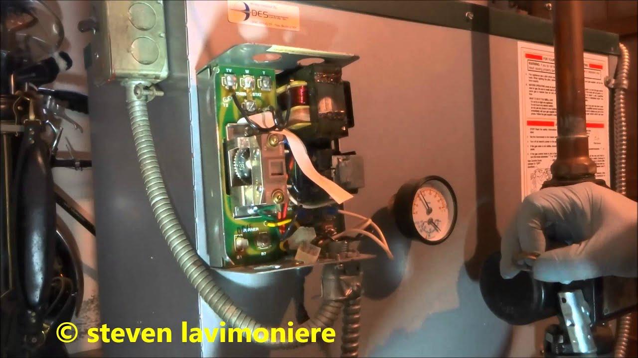 Gas Fired Boiler Bad Main Operating Control Honeywell L8148E - Youtube - Honeywell Aquastat L8148E Wiring Diagram