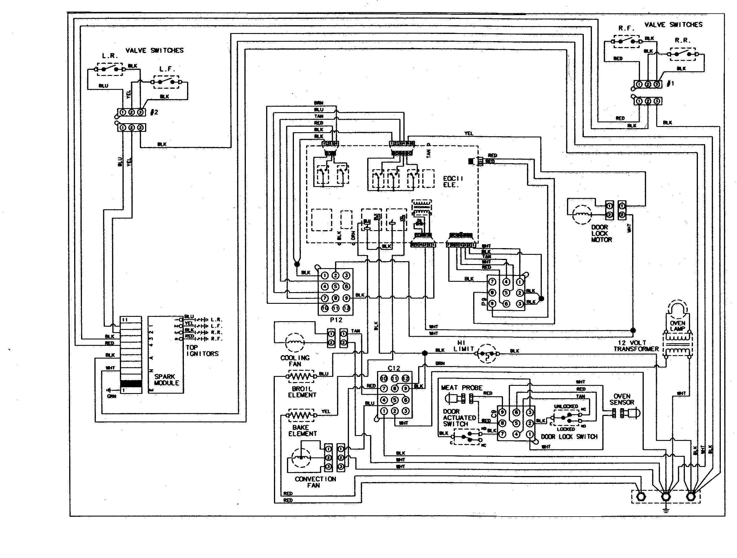 Ge Cooktop Wiring Diagram - Wiring Diagrams Click - Ge Stove Wiring Diagram