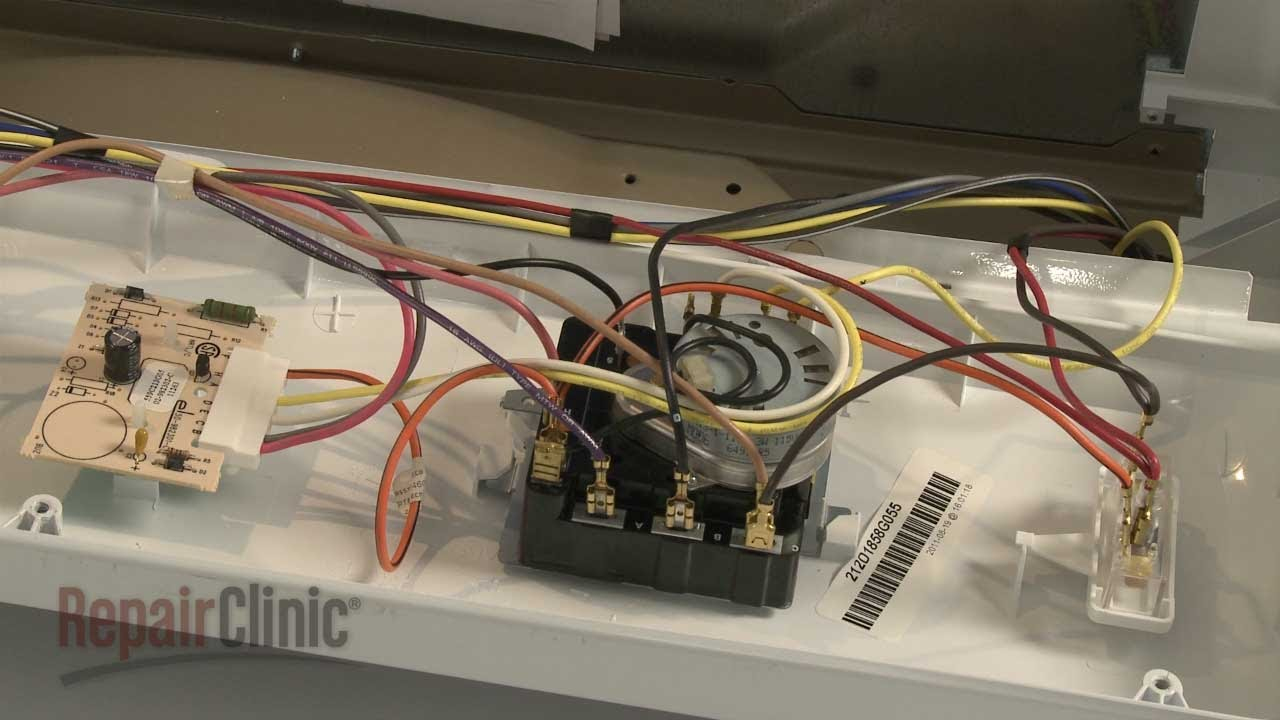 Ge Dryer Timer Replacement #we4M365 - Youtube - Ge Dryer Timer Wiring Diagram