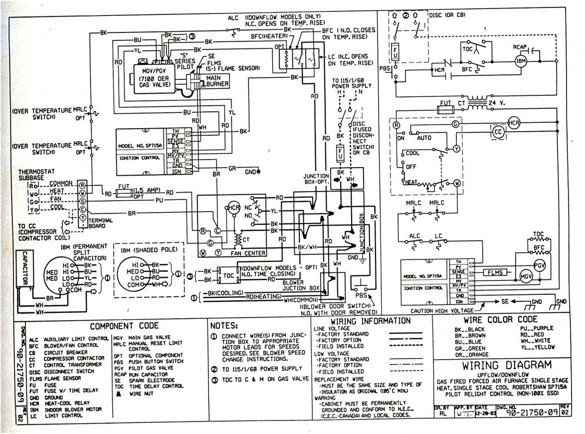 Ge Gas Furnace Wiring   Wiring Diagram - Gas Furnace Wiring Diagram